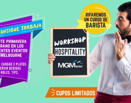 Workshop Hospitality Octubre: tips para encontrar trabajo